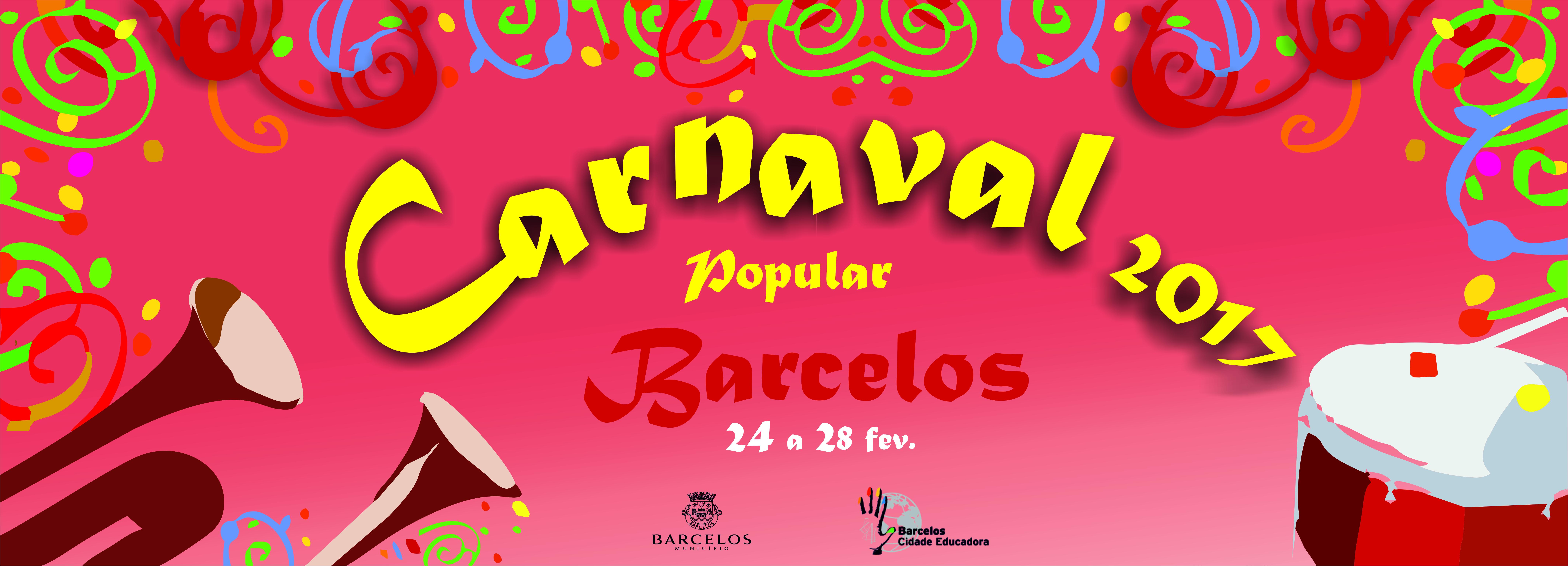 Máscaras, baile e música, a magia do Carnaval barcelense