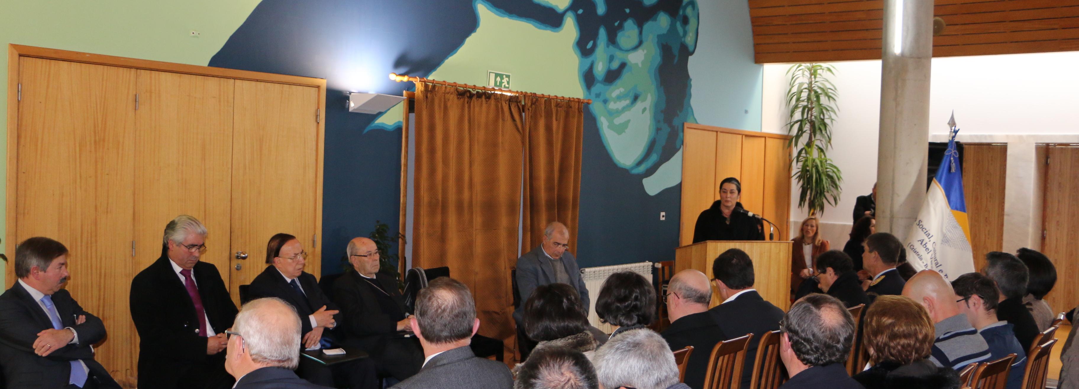 Armandina Saleiro presente nas comemorações do 20º aniversário do Centro Social Abel Varzim