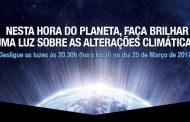 desligar as luzes pelo planeta