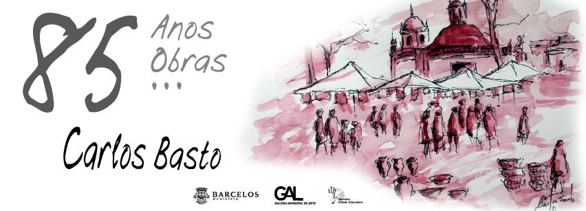 Barcelos homenageia o artista Carlos Basto no seu 85º aniversário