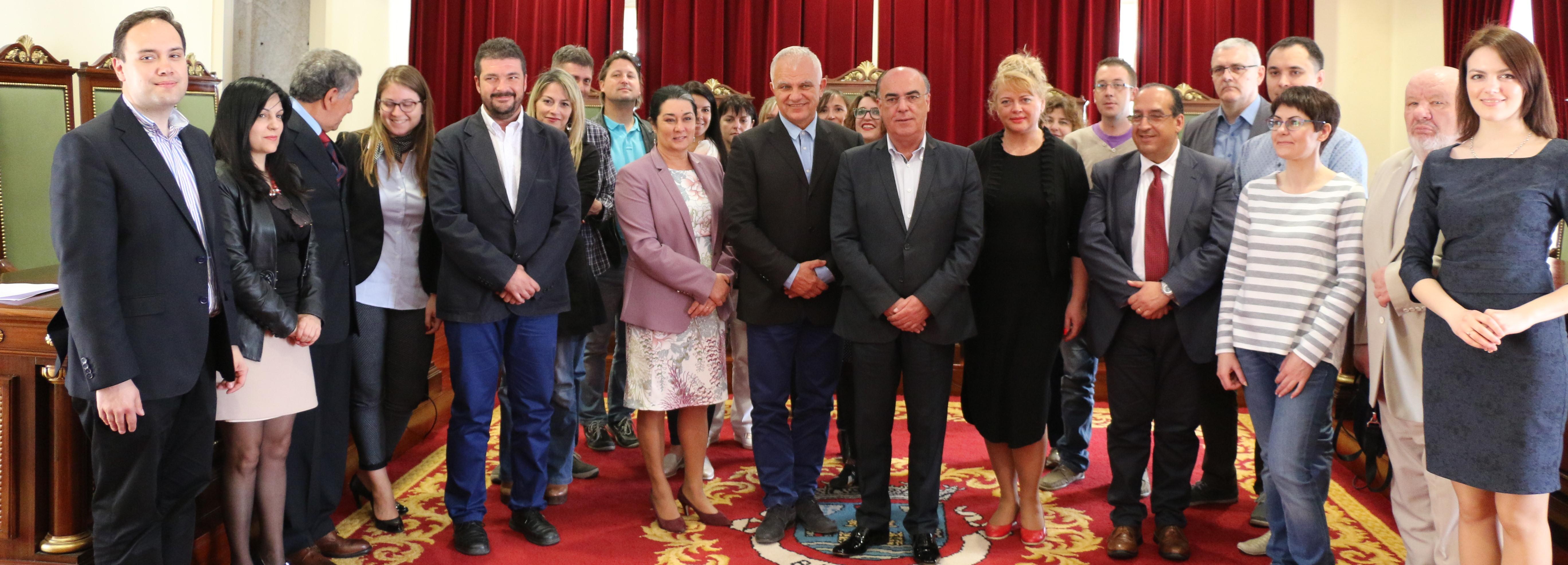 Espanha, Estónia, Hungria e Itália reúnem-se em Barcelos para debater a participação cívica e democrática na EU