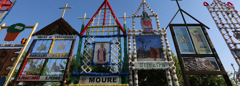 Festa das Cruzes arrancou domingo