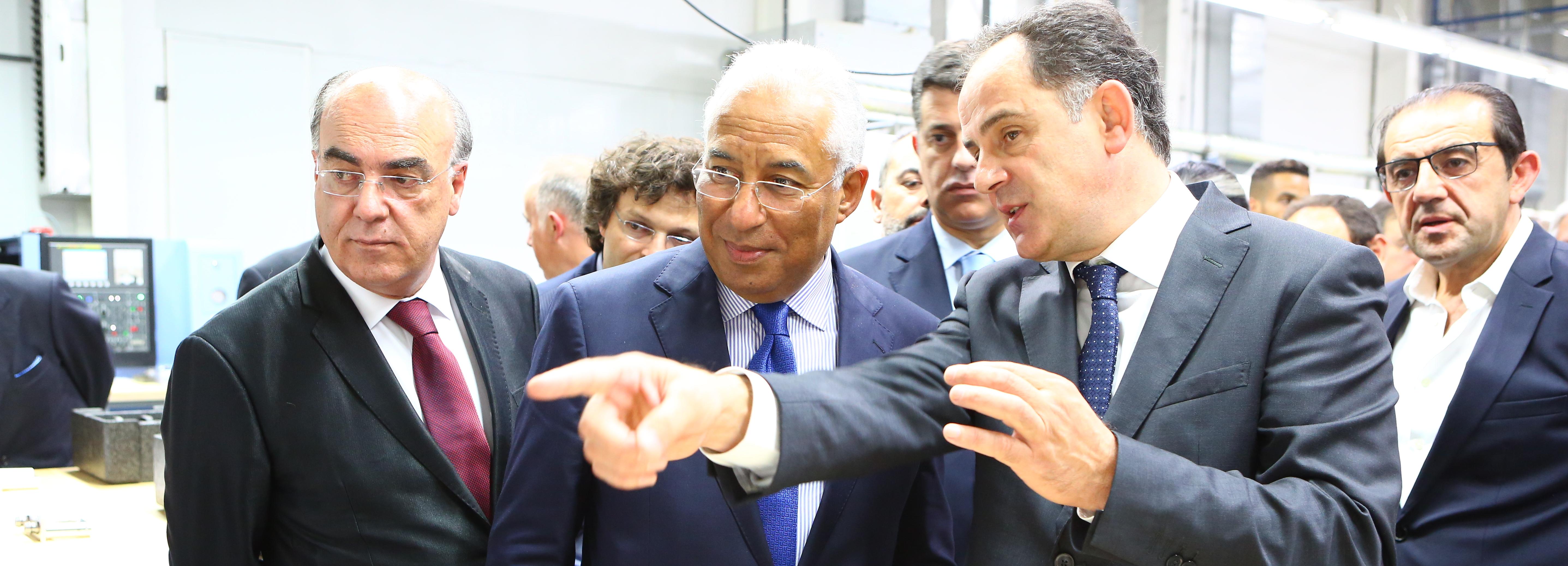 Primeiro-Ministro inaugurou as novas instalações da Kristaltek em Barcelos