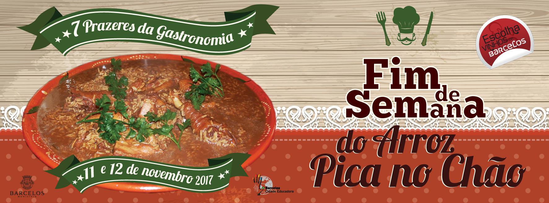 Arroz Pica no Chão à mesa em 27 restaurantes do concelho