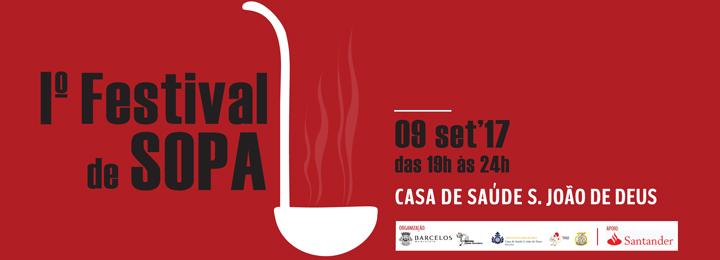 BARCELOS VAI SER PALCO DO I FESTIVAL DE SOPA
