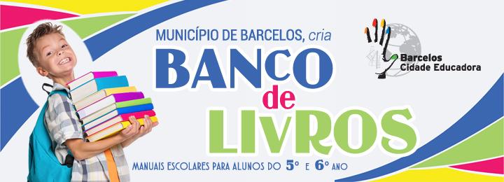 Município de Barcelos cria Banco de Livros Escolares