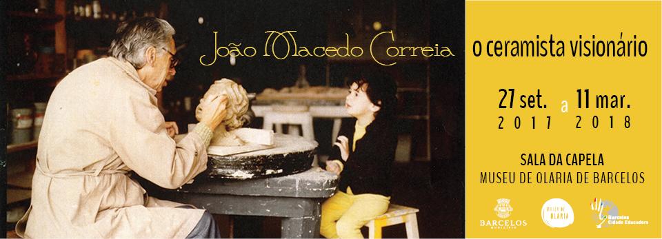 Museu de Olaria recebe exposição póstuma de João Macedo Correia