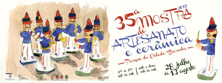 Parque da Cidade acolhe 35ª Mostra de Artesanato e Cerâmica de Barcelos