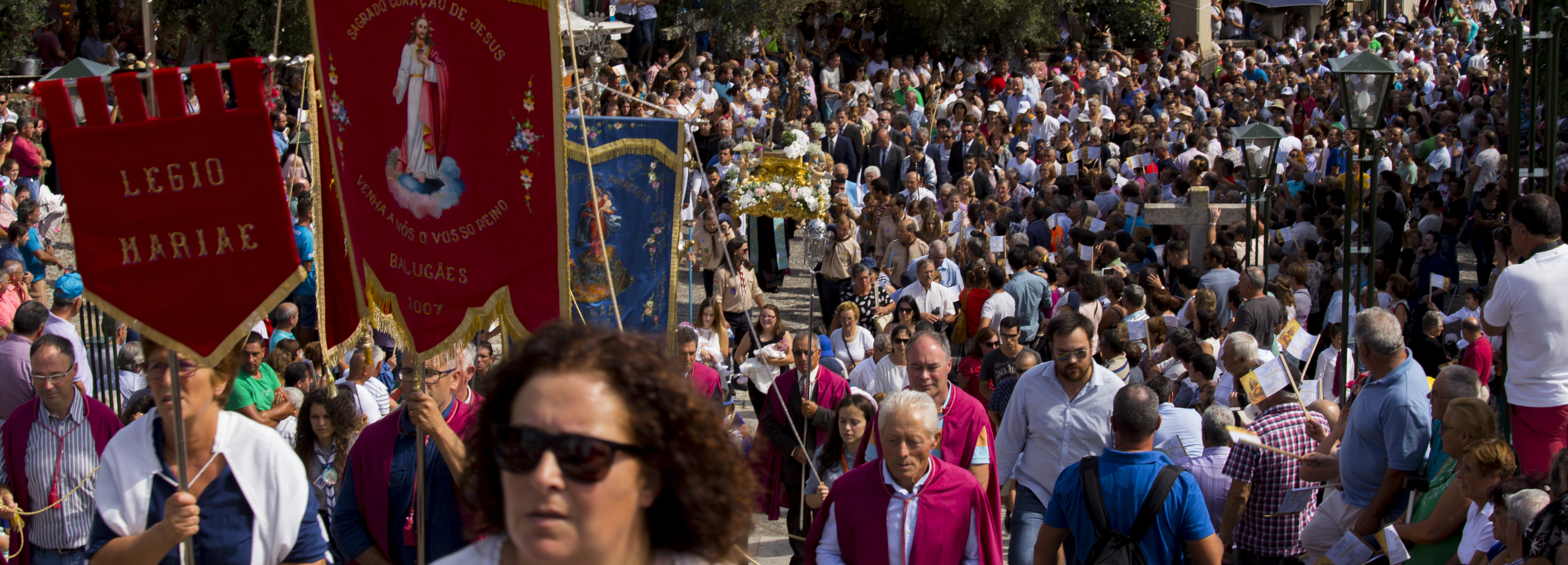 Peregrinações à Franqueira e à Aparecida mobilizam milhares de fiéis