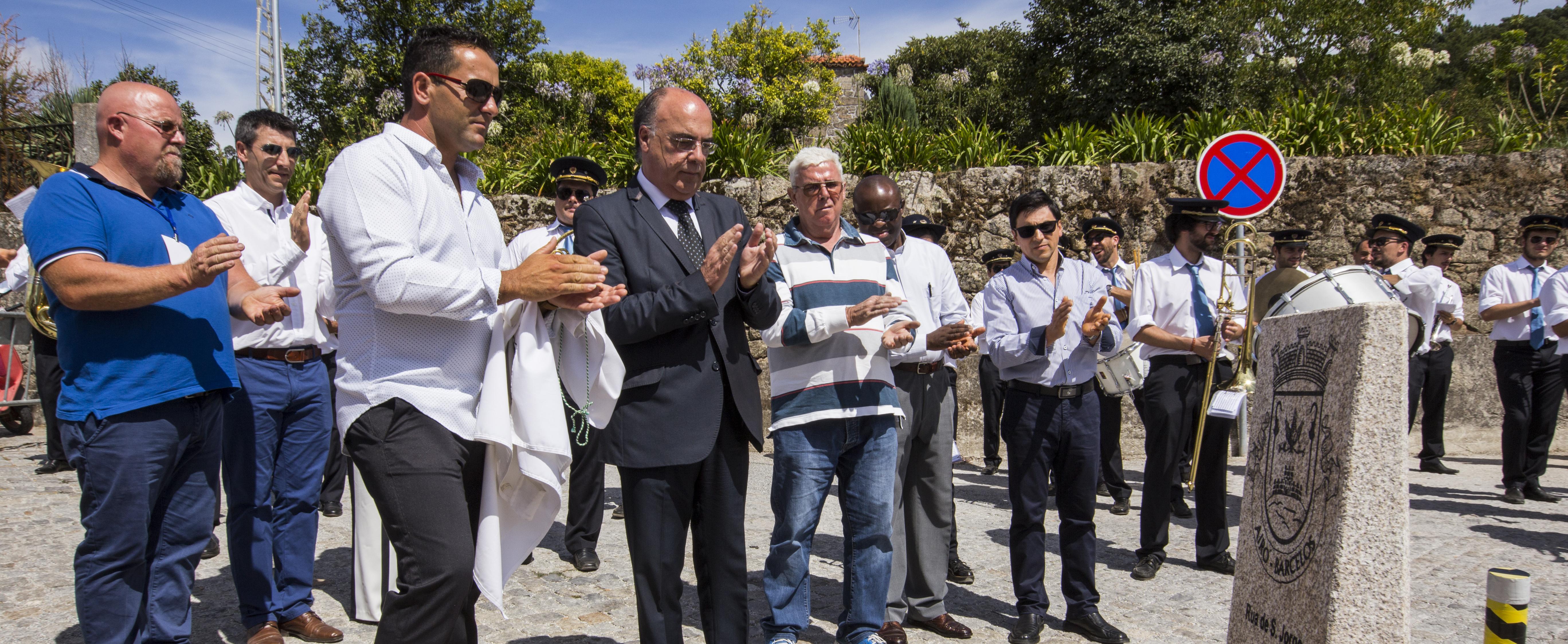 Presidente da Câmara inaugura obras na freguesia de Airó