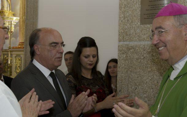 presidente da câmara inaugurou obras de requali...