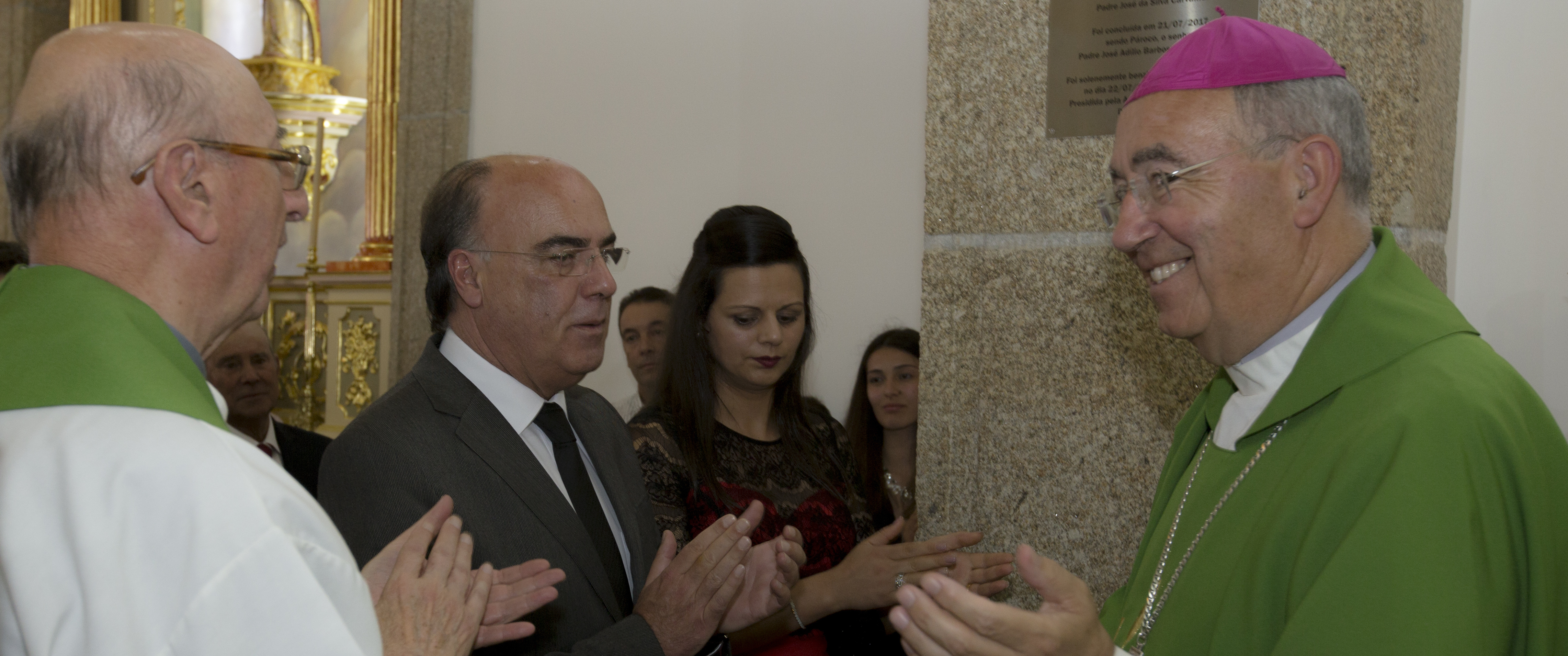 Presidente da Câmara inaugurou obras de requalificação da Igreja Paroquial de Oliveira