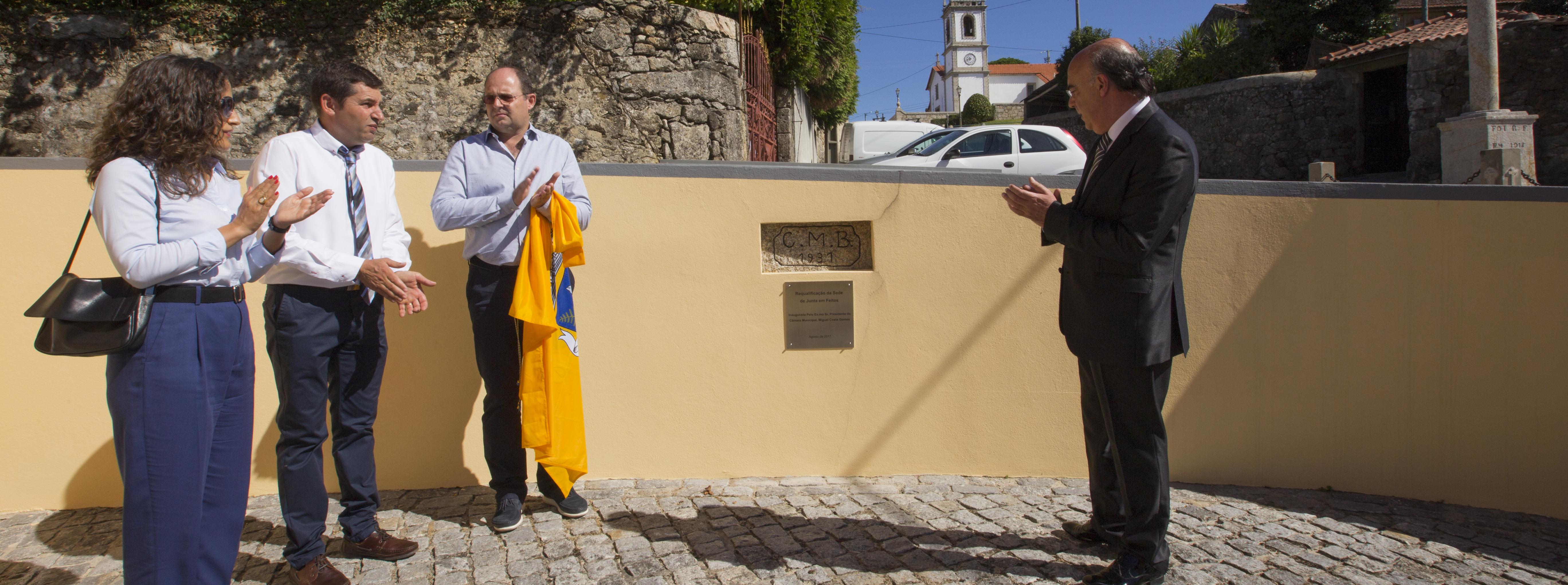 Presidente da Câmara visita União de Freguesias de Vila Cova e Feitos