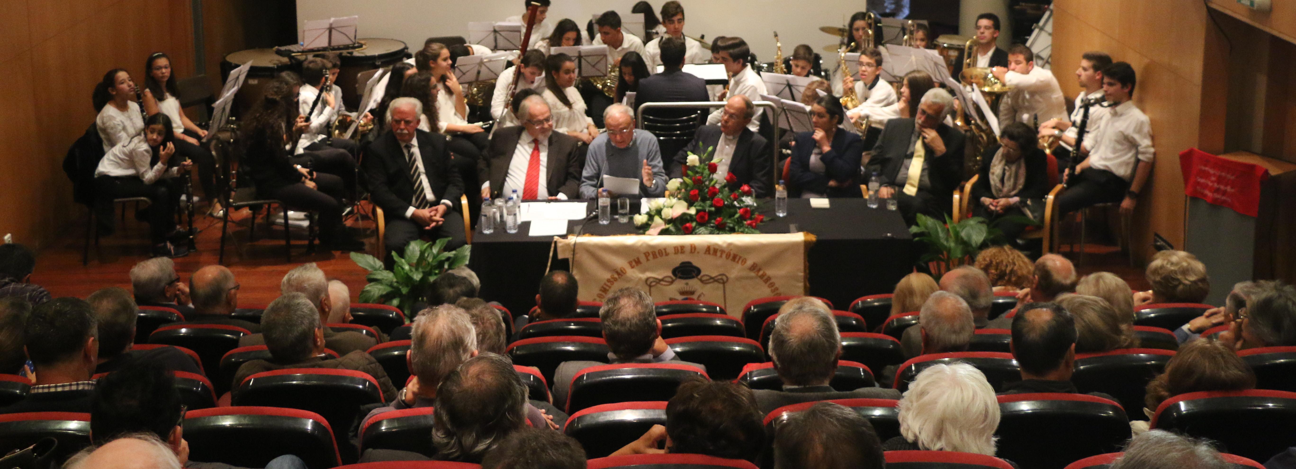 Bispo D. António Barroso homenageado na Biblioteca Municipal
