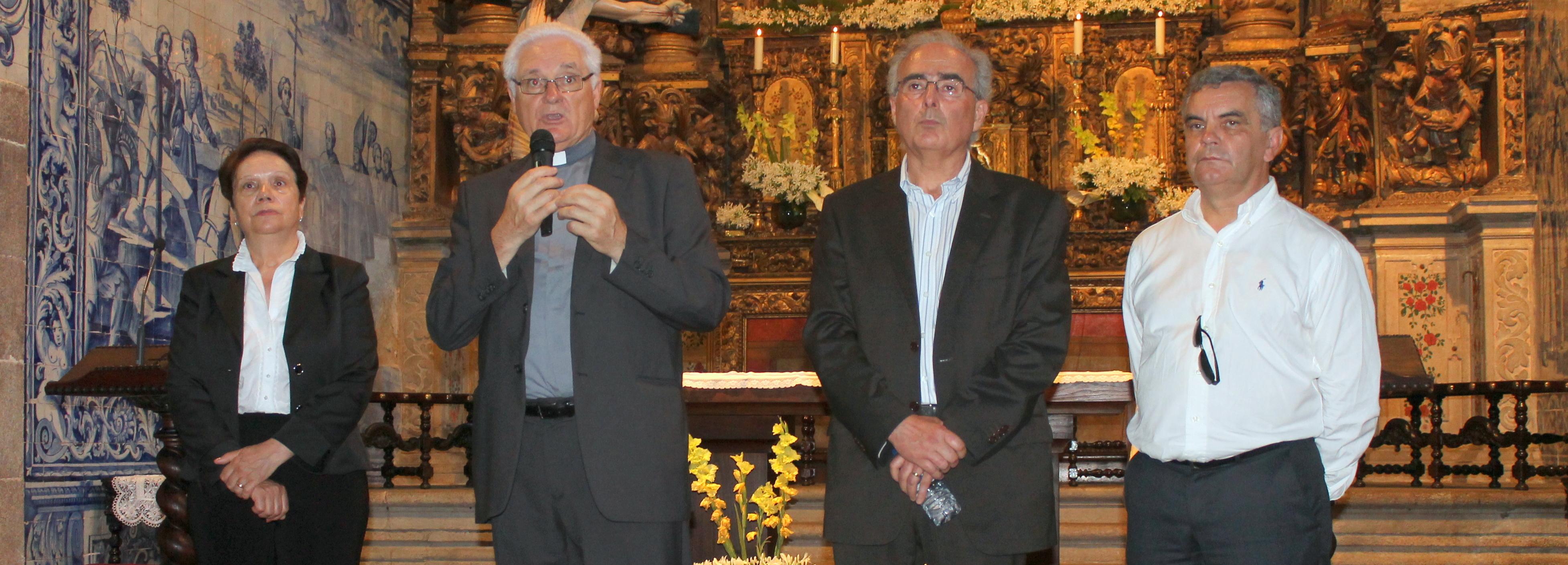 Comemorações dos 300 anos da igreja de Nossa Senhora do Terço encerram com inauguração do restauro do Púlpito de Dossel