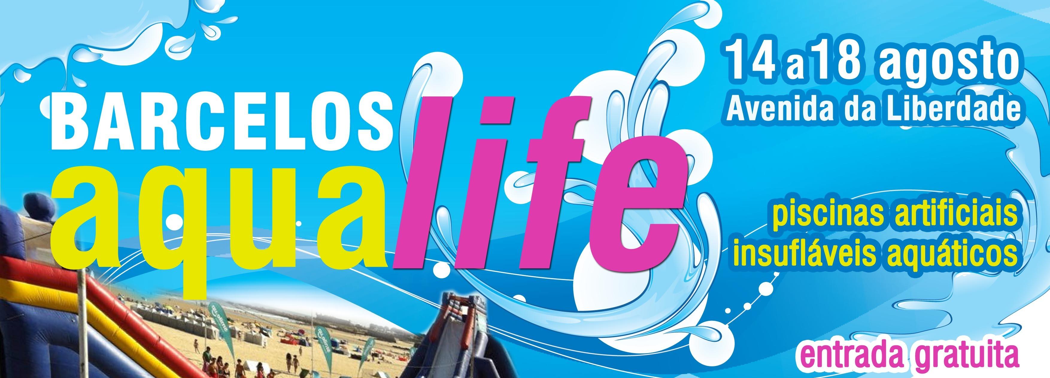 Piscinas e insufláveis aquáticos de 14 a 18 de agosto na Avenida da Liberdade