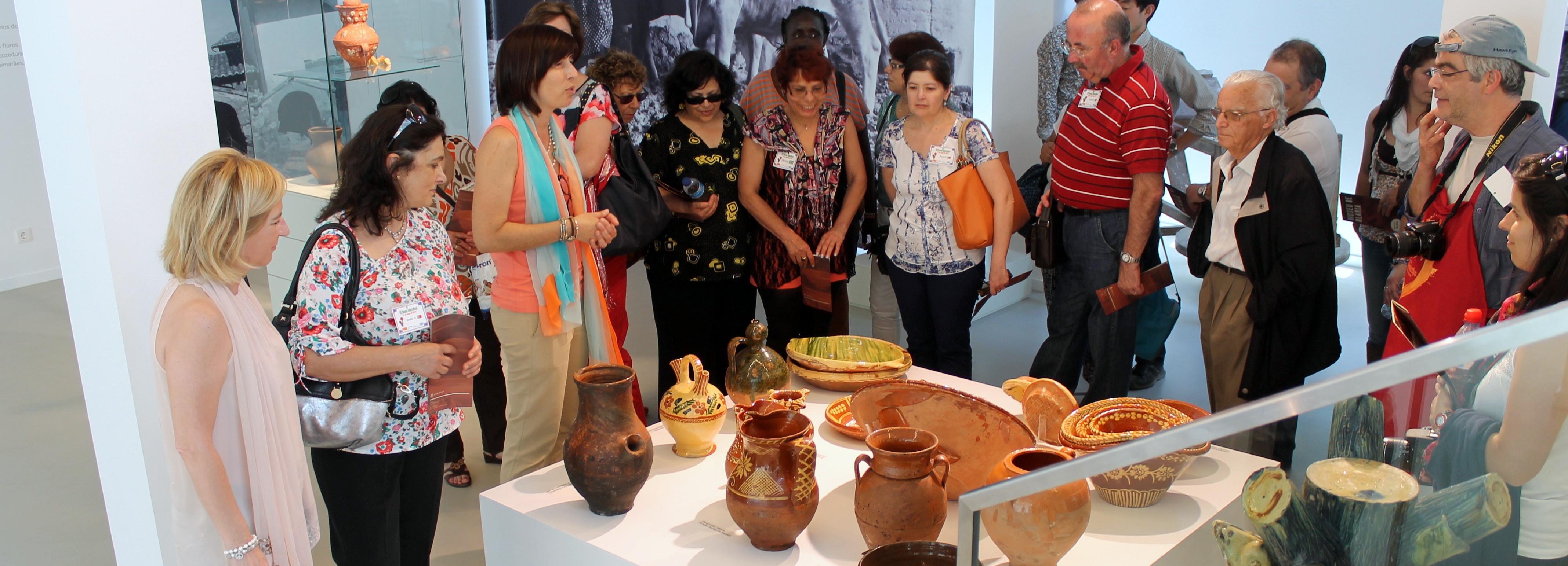 Exposição sobre olaria do norte de Portugal marcou comemorações do Dia Internacional dos Museus