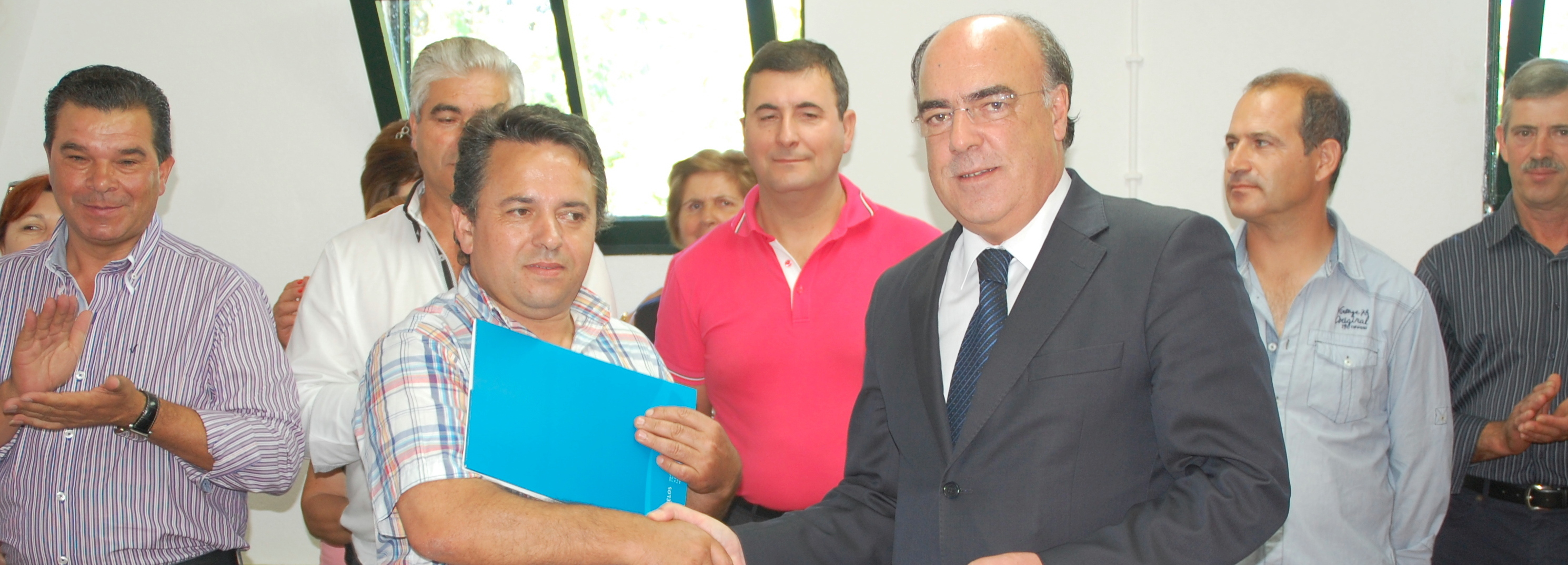Presidente da Câmara inaugurou em Cristelo nova sede da Associação de Caça e Pesca