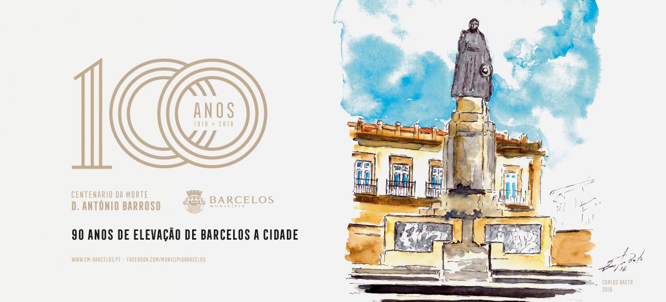 Barcelos dedica o Dia da Cidade a D. António Barroso