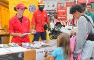 proteção civil sensibiliza para os incêndios fl...