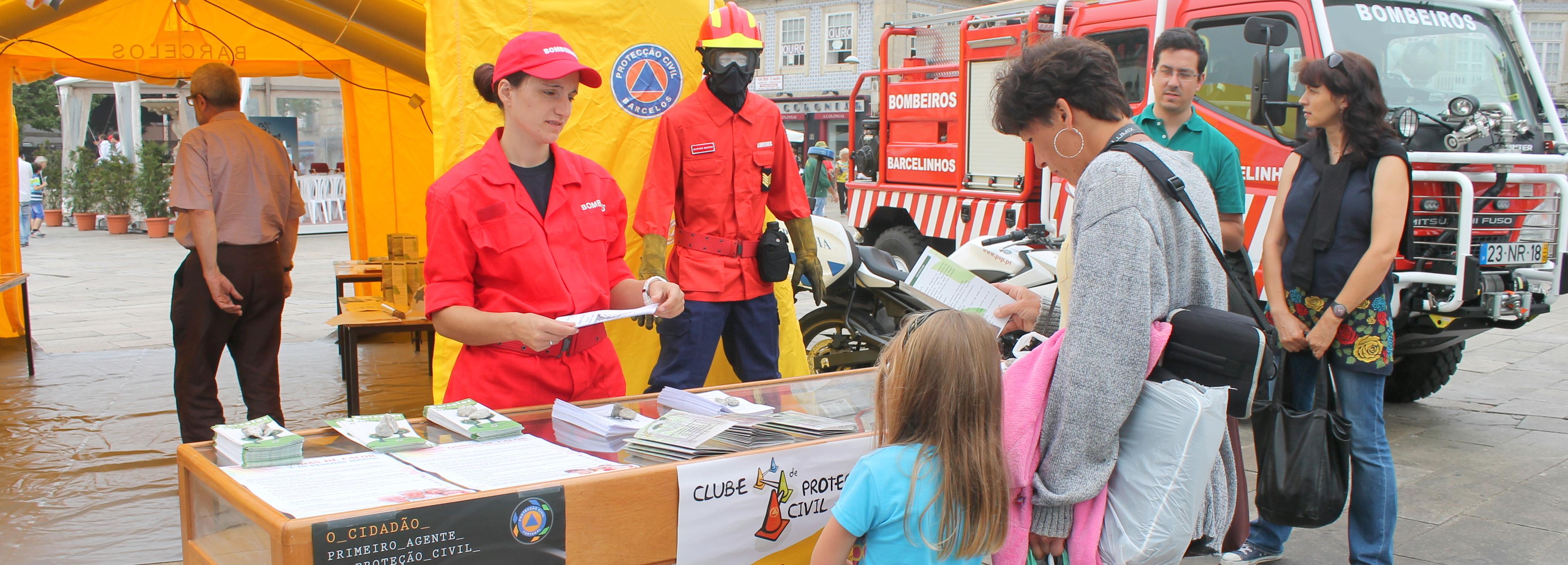 Proteção Civil sensibiliza para os incêndios florestais