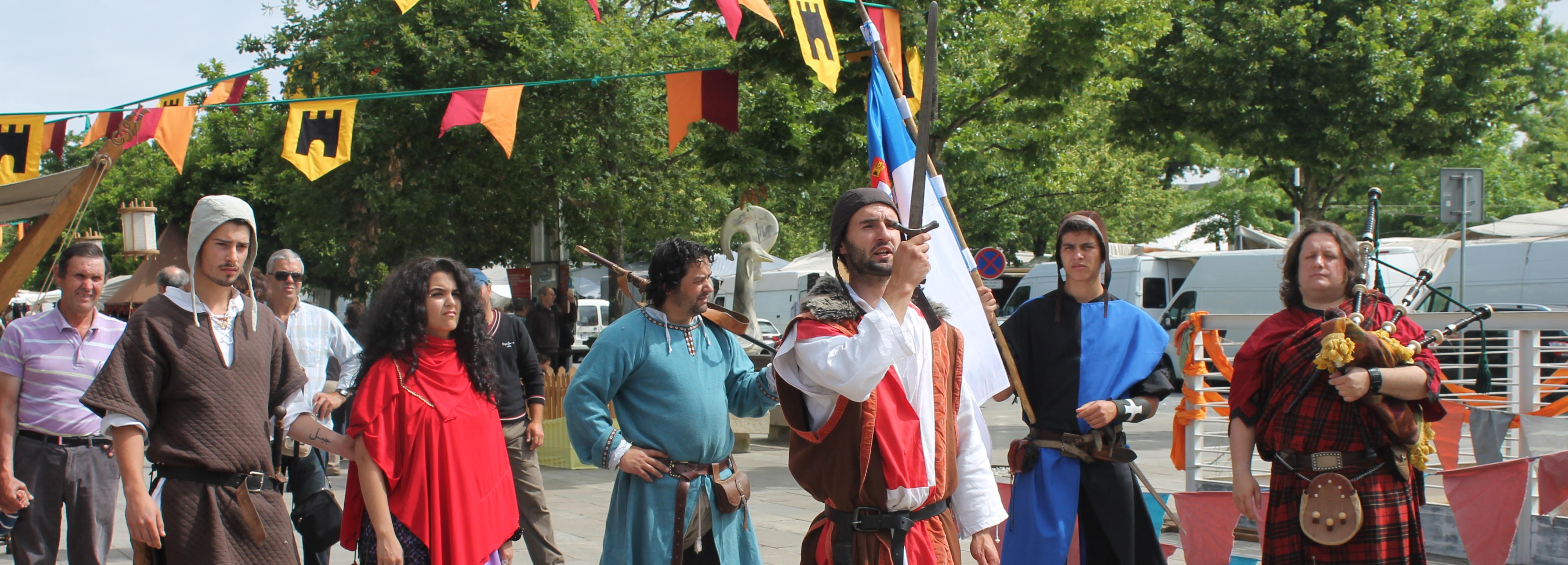 Recriação do Mercado Medieval atraiu milhares de pessoas a Barcelos