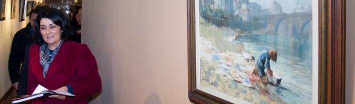 Cinco décadas de pintura de Jerónimo expostas em cinco locais de Barcelos
