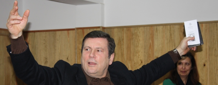 António Torrado e João Tordo nas escolas de Barcelos