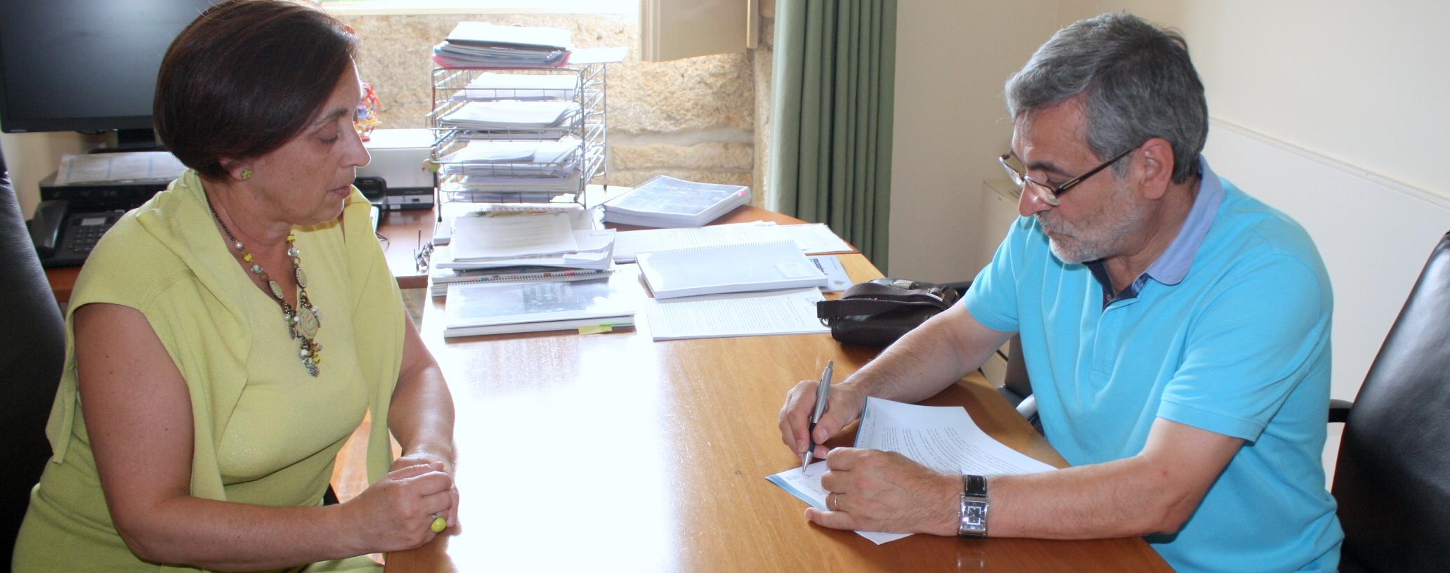 Câmara Municipal assina protocolo com Associação Humantária de Rio Covo Santa Eugénia