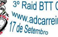 3.º raid btt carreira