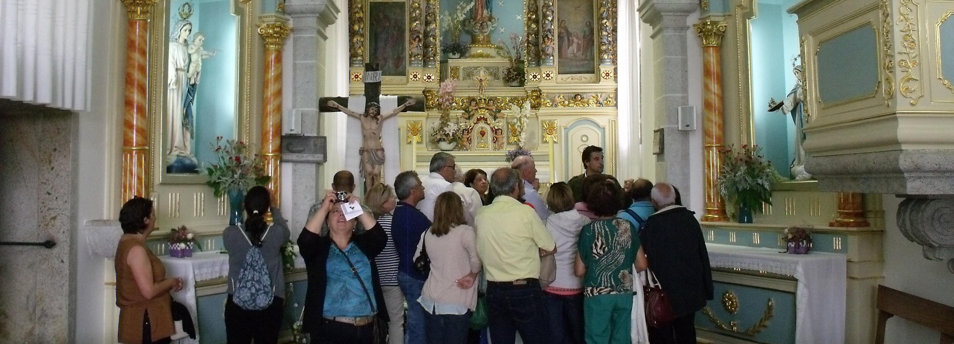 VIII Rota dos Santuários e Igrejas de Barcelos visitou monumentos de Aldreu, Balugães e Lijó