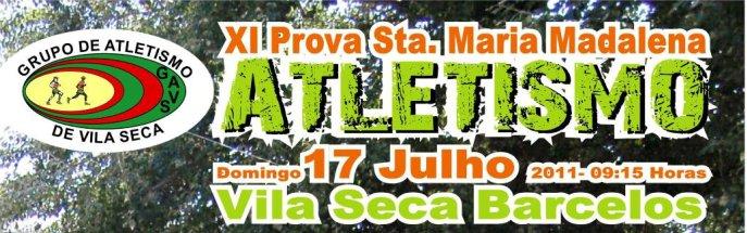 XI Prova de Atletismo Santa Maria Madalena, em Vila Seca
