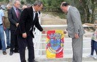 presidente da câmara inaugura reconstrução de p...