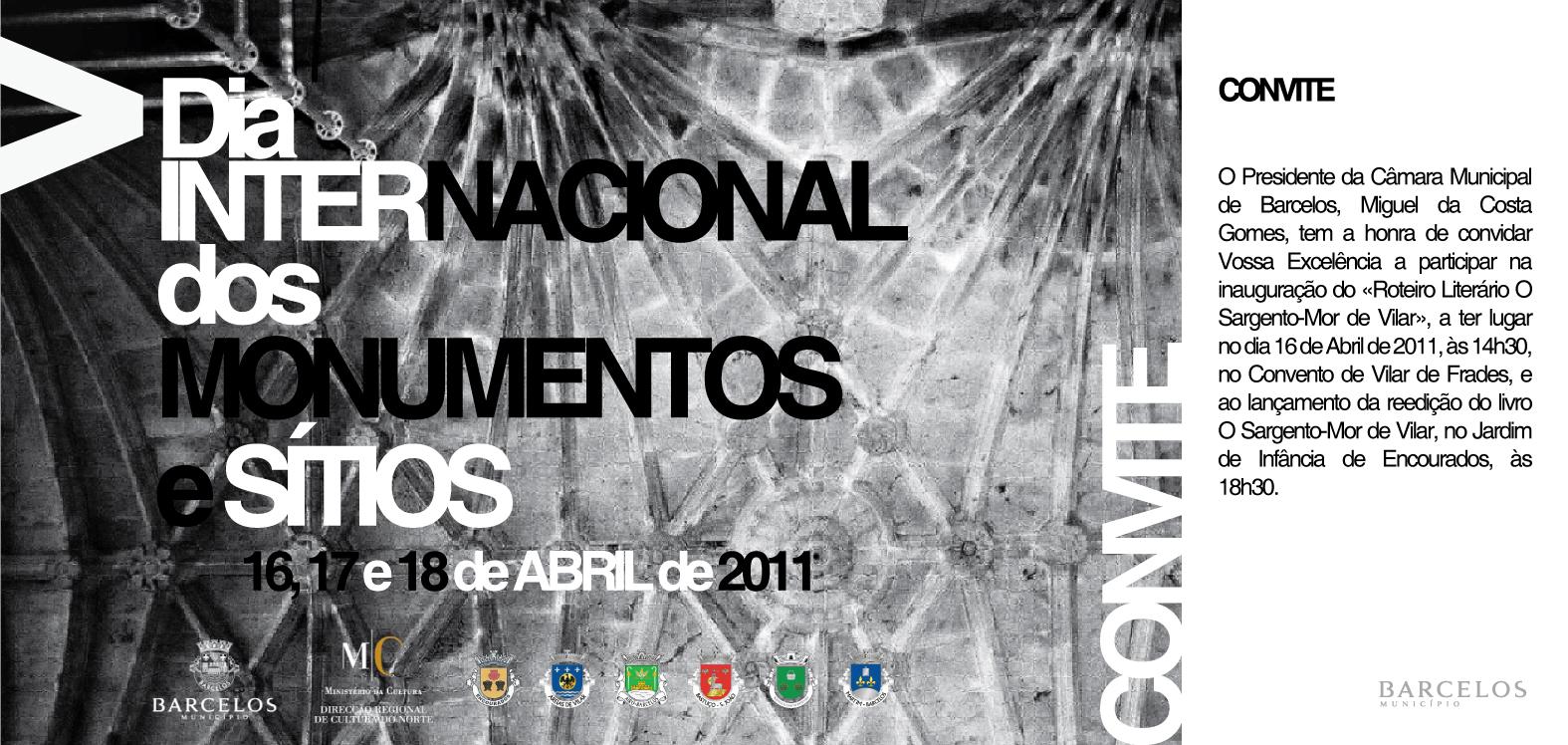 Câmara Municipal comemora Dia Internacional dos Monumentos e Sítios