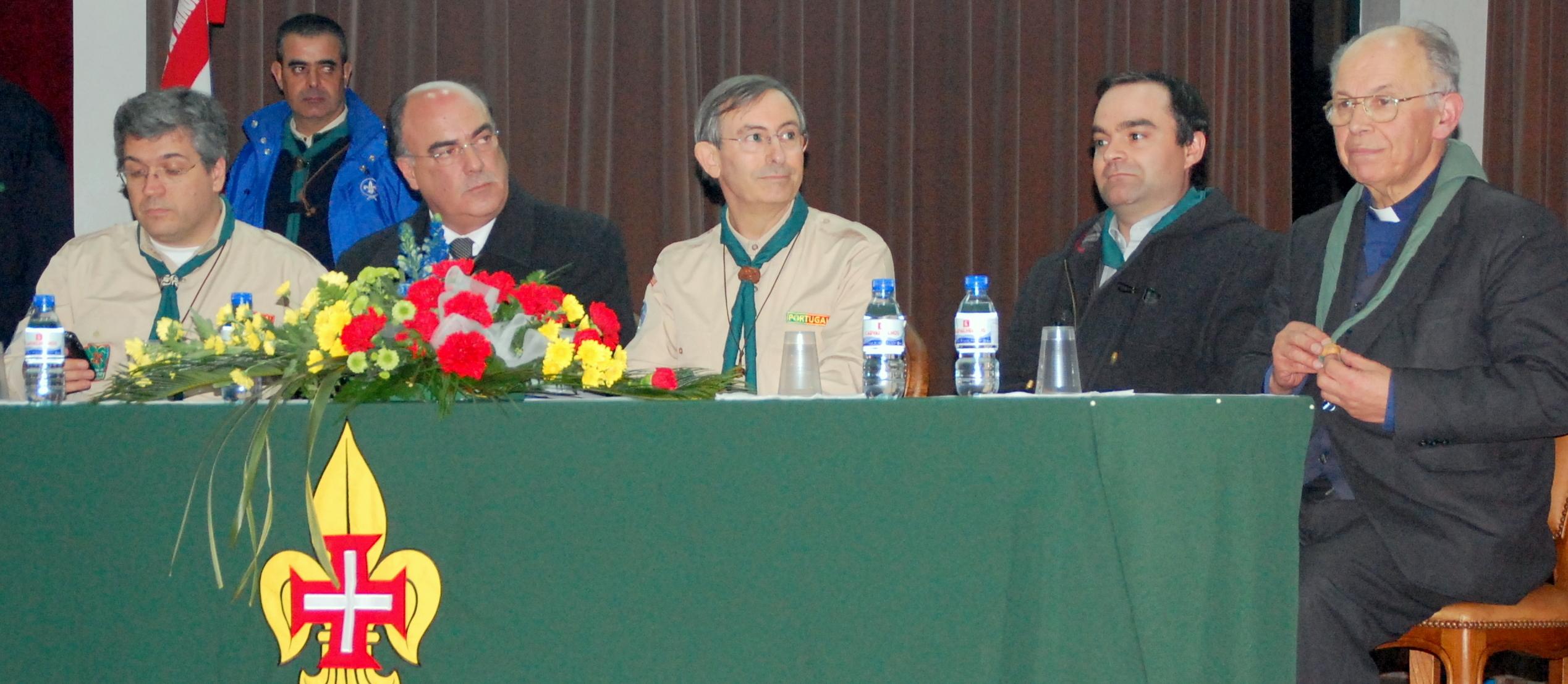 Presidente da Câmara na tomada de posse do novo Assistente e da Junta de Núcleo de Barcelos do Corpo Nacional de Escutas