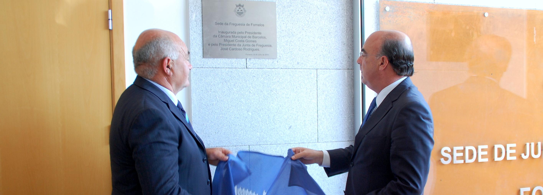 Presidente da Câmara inaugurou nova sede da Freguesia de Fornelos