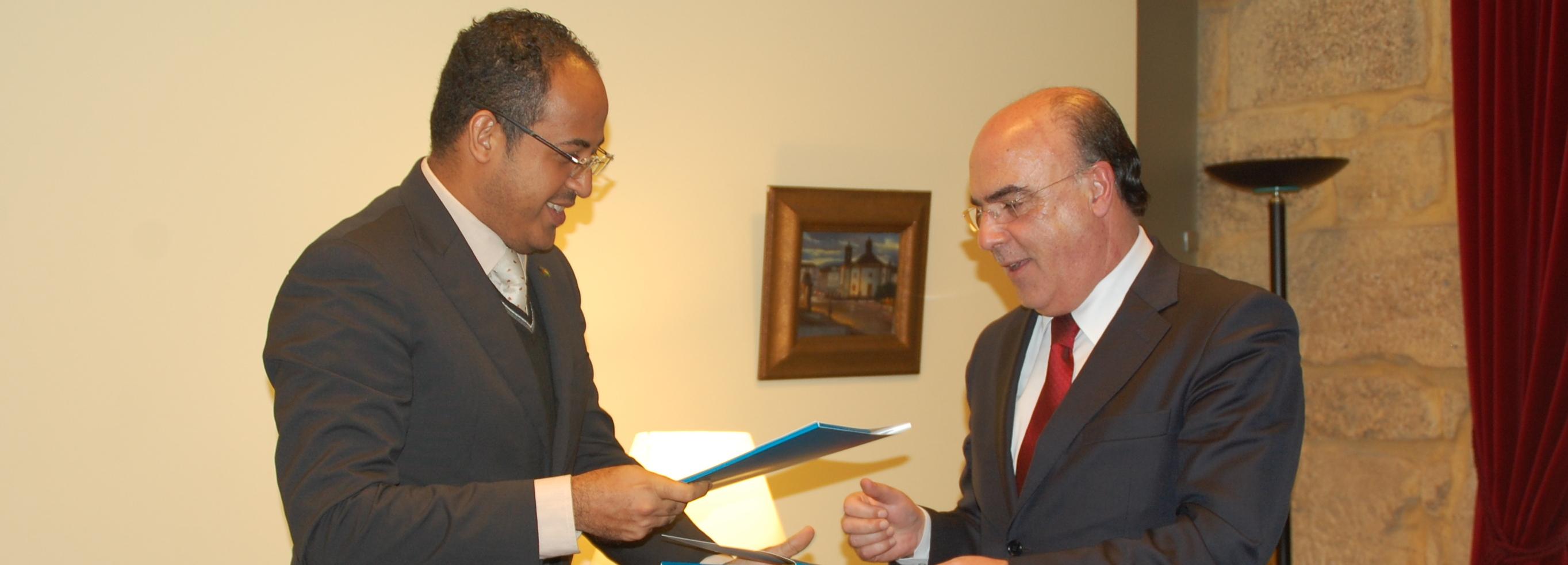 Câmara Municipal de Barcelos e Câmara Distrital de Água Grande (S. Tomé e Príncipe) estreitam relações de cooperação
