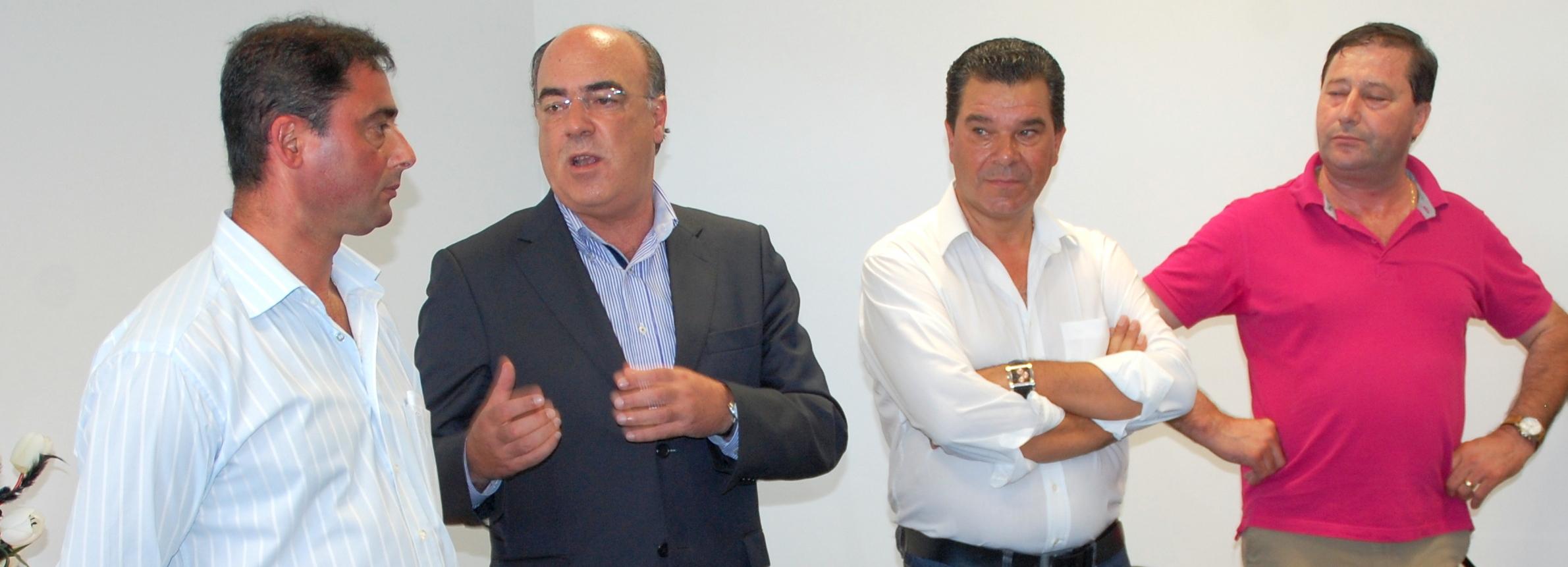 Presidente da Câmara inaugurou novas instalações de empresa em Paradela