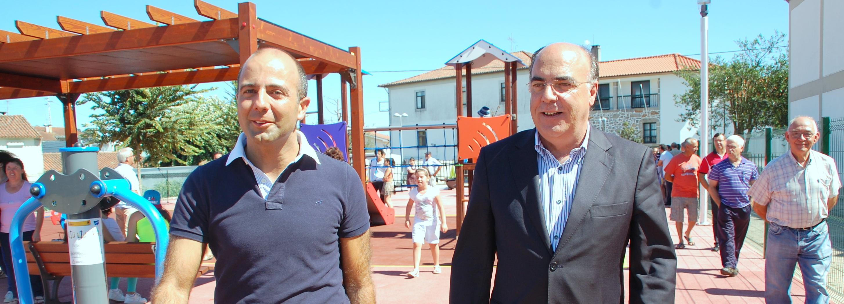 Parque infantil, geriátrico e de recreio da Silva já está em funcionamento