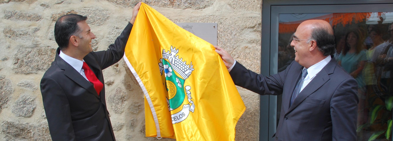 Cossourado inaugurou primeira fase da sede da Freguesia
