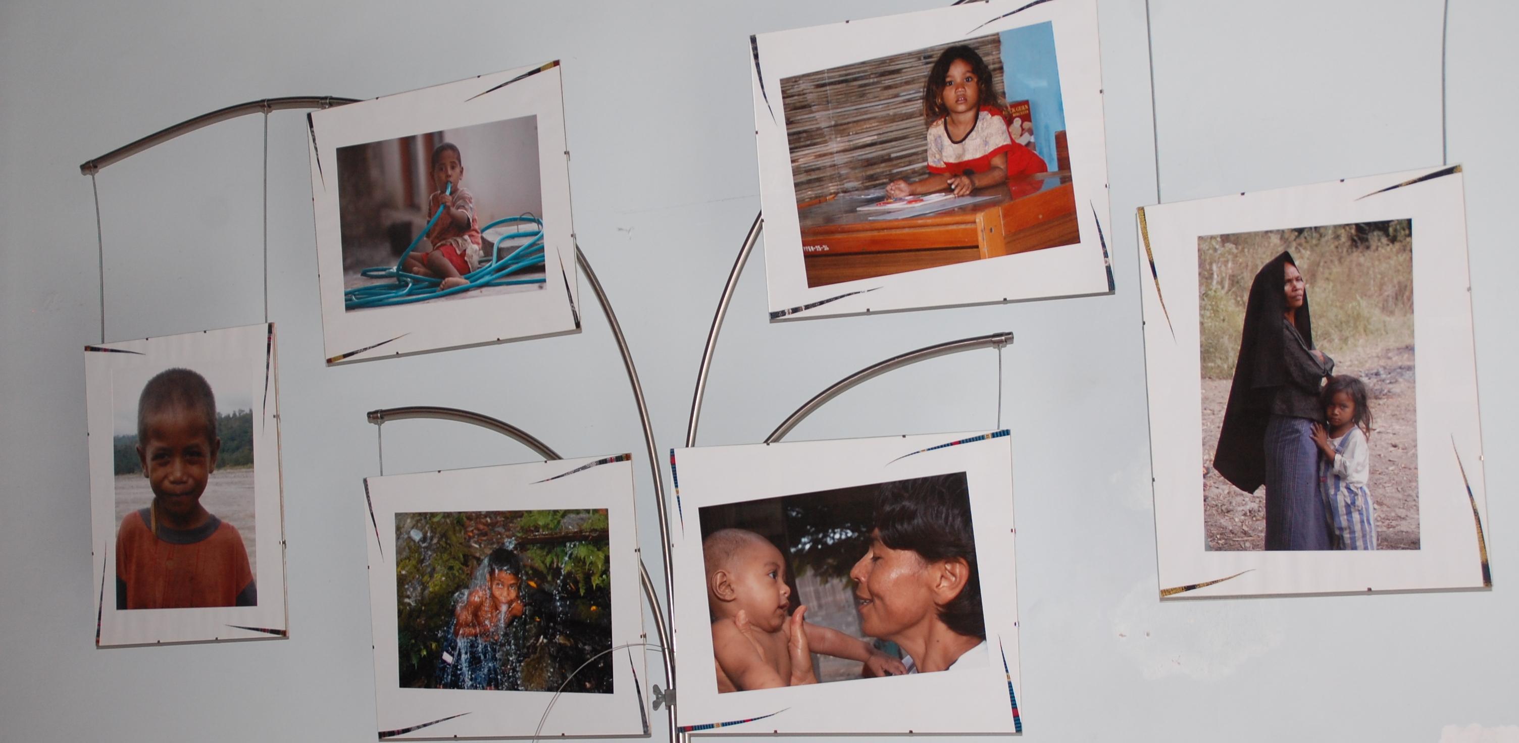 Exposição de fotografia sobre Timor no Salão Nobre da Câmara Municipal