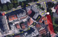 Aviso: Corte da ligação entre a Rua Dr. Francisco Torres e o Largo dos Capuchinhos