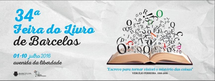34ª Feira do Livro de Barcelos comemora os 100 anos de nascimento de Vergílio Ferreira