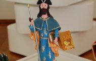artesãos de barcelos expõem figuras de santiago