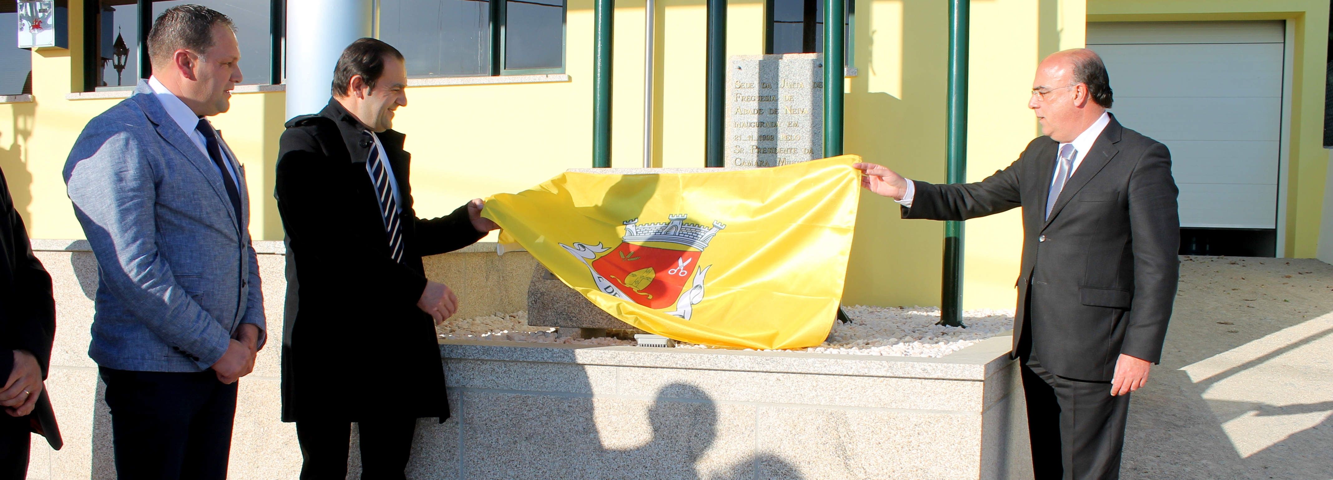 Abade de Neiva inaugurou ampliação da sede da Junta