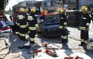 município promoveu simulacro de acidente de viação