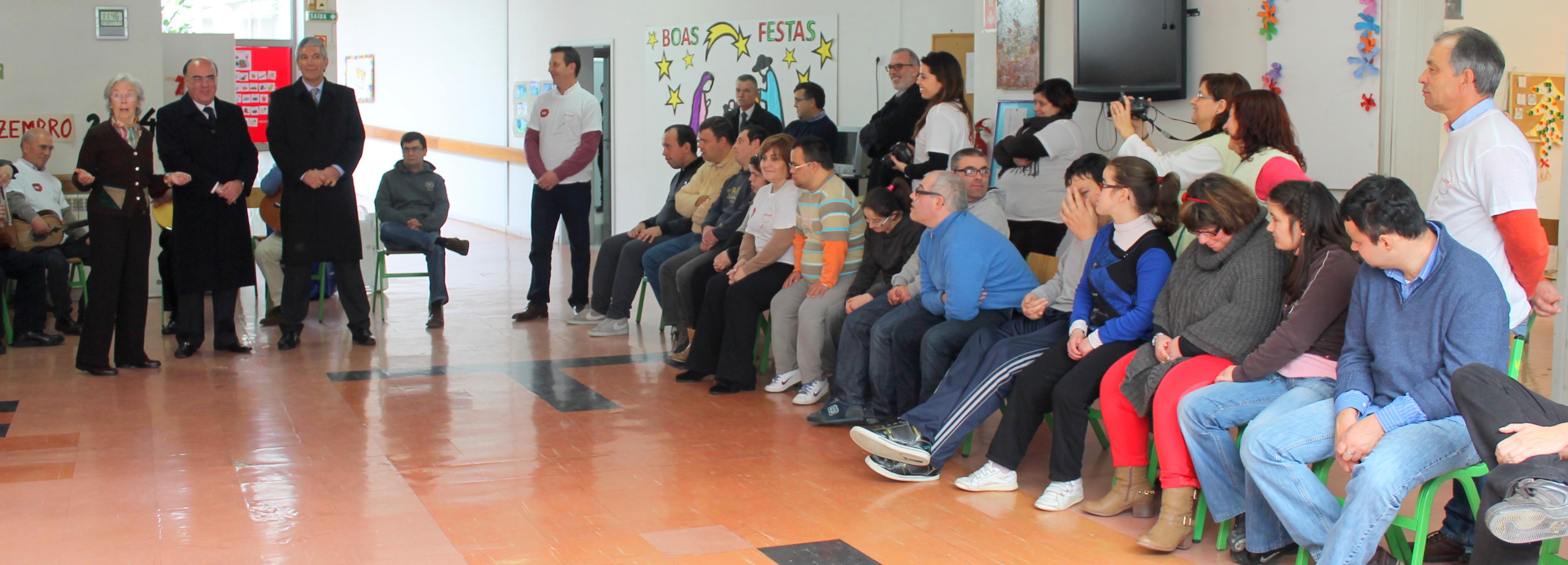 EDP e Câmara Municipal promovem atividade solidária na APACI