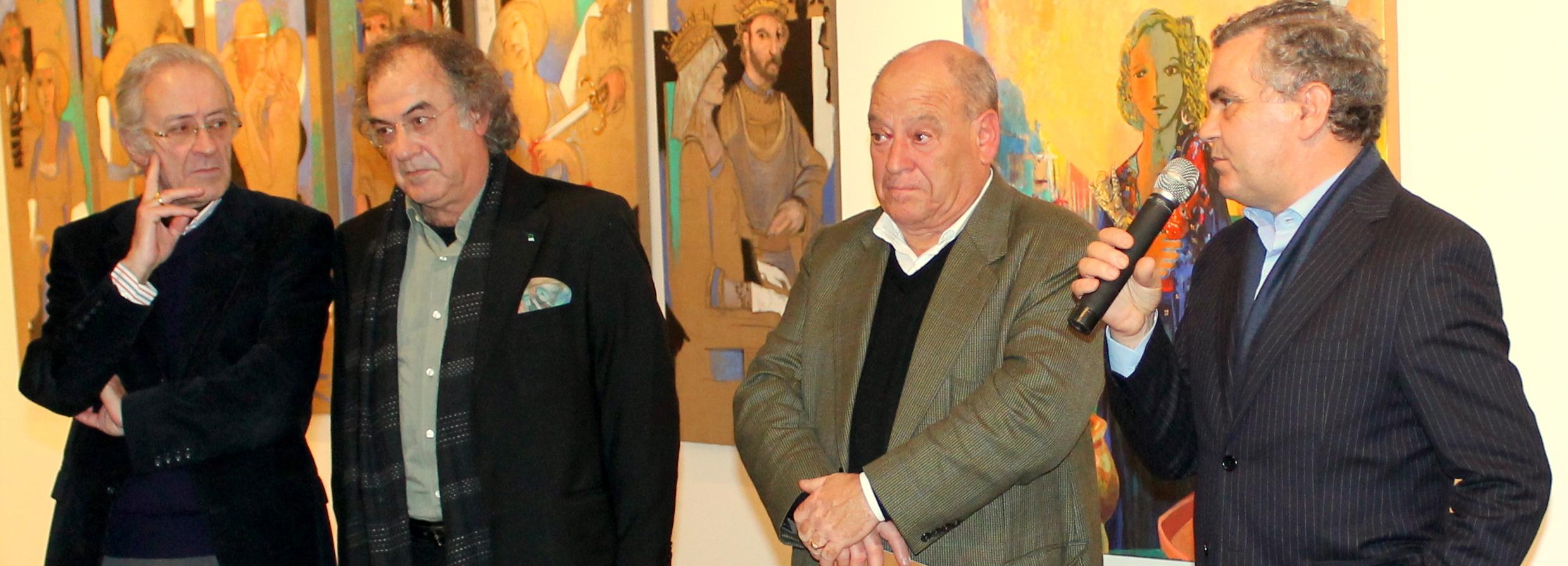 Exposição de pintura de José Emídio na Galeria Municipal de Arte