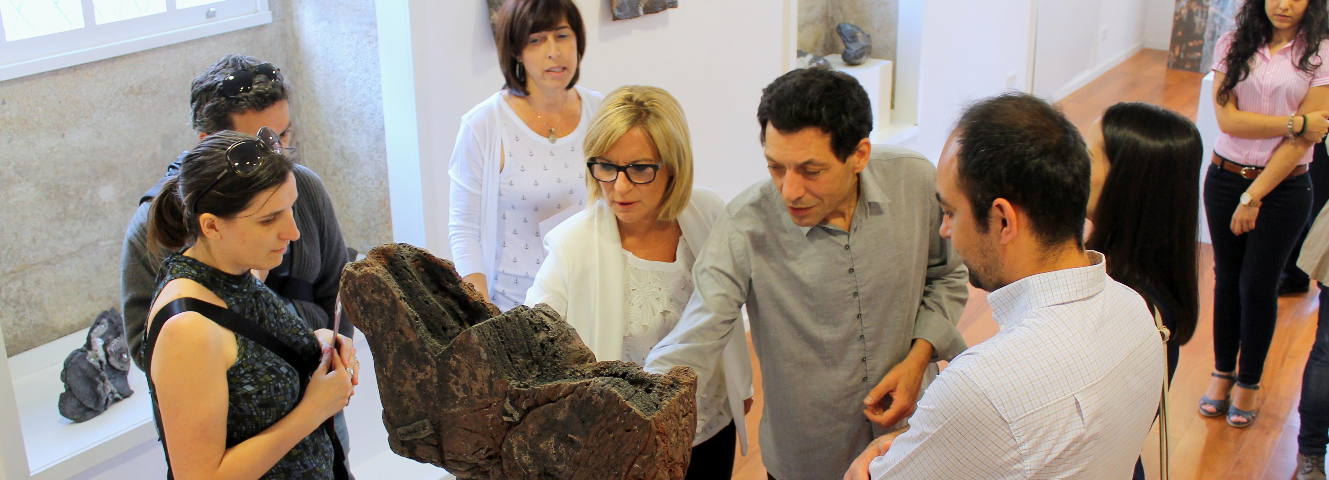 """Exposição """"Enclaves 2014"""" inaugurada no Museu de Olaria"""