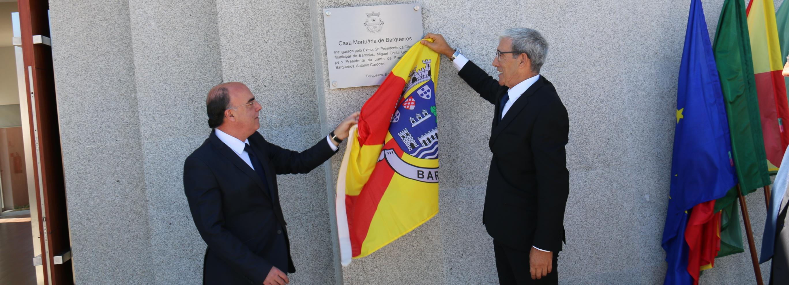 Presidente da Câmara inaugurou Casa Mortuária de Barqueiros